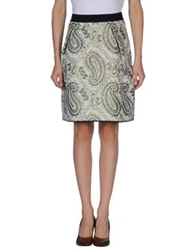Marc Jacobs Knee Length Skirts Ivory