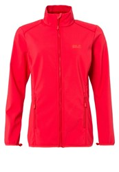 Jack Wolfskin Element Altis Soft Shell Jacket Hibiscus Red Light Red