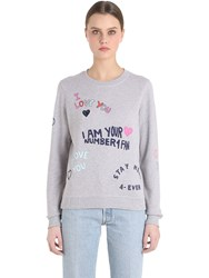 Kenzo I Love You Cotton Sweatshirt