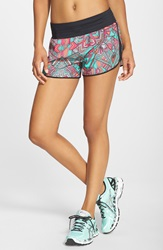 Asics 'Cleo Pop' Shorts Geotribal Print