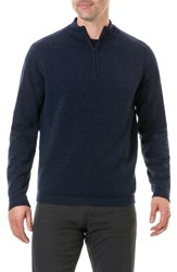 Rodd And Gunn Iverness Lambswool Sweater Navy