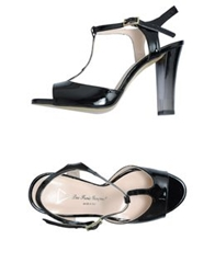 Les Trois Garcons High Heeled Sandals Black