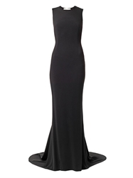 Stella Mccartney Bianca Mesh Back Cady Gown