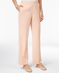 Alfred Dunner Pull On Pants Peach