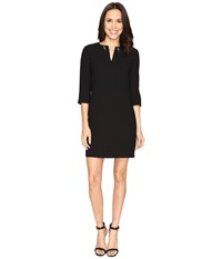 Ted Baker Joyita Tunic With Chain Detail Black Women's Blouse