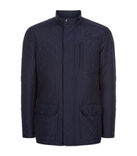 Pal Zileri Diamond Quilt Jacket Male Navy