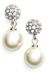 Women's Givenchy 'Fireball' Faux Pearl Drop Earrings