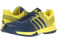 Adidas Ligra 4 Bright Yellow Mystery Blue Men's Volleyball Shoes