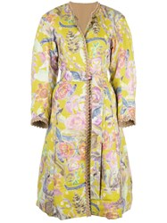 Tsumori Chisato Reversible Belted Coat Yellow