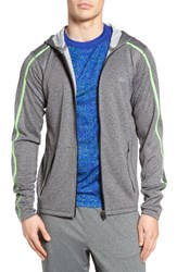 Lacoste Men's Double Face Performance Zip Hoodie Pitch Fluo Green