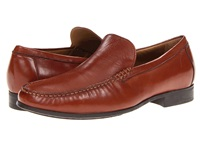 Johnston And Murphy Cresswell Venetian Cognac Sheepskin Men's Slip On Shoes Mahogany