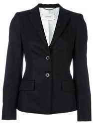 Dorothee Schumacher Flap Pockets Fitted Jacket Black