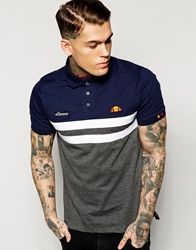 Ellesse Polo Shirt Grey