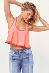 Kimchi And Blue Baby Belle Tie Side Tank Top Pink