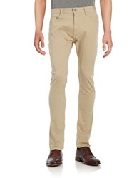 Calvin Klein Jeans Tapered Chino Pants Beige