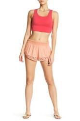 Rip Curl Everlong Crochet Short Orange