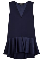 Paule Ka Navy Flared Top