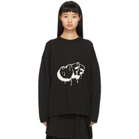 Off White Black Bubble Arrows Sweater