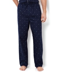 Nautica Men's Signature Pajama Pants Maritime Navy