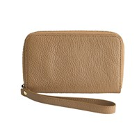 Graphic Image Wristlet Phone Wallet Sand Plain