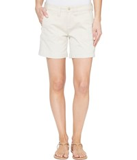 Jag Jeans Somerset Relaxed Fit Shorts In Bay Twill Stone Women's Shorts White