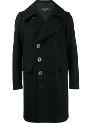 Dsquared2 Long Peacoat Blue