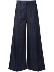 H Beauty And Youth. 'Baggy' Trousers Blue