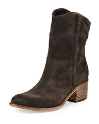 Alberto Fermani Martana Suede Ankle Boot Anthracite