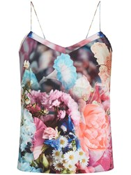 Ted Baker Sacet Focus Bouquet Cami Top Dark Blue
