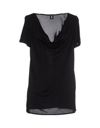 1 One Topwear T Shirts Women Black