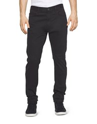 Calvin Klein Jeans Tapered Chino Pants Black