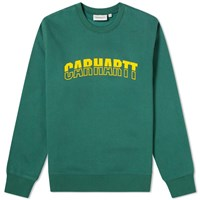 Carhartt Wip District Sweat Green