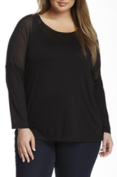 Bb Dakota Imani Tee Plus Size Black