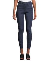 Kendall Kylie The Sultry High Rise Ankle Skinny Jeans Blue
