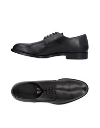 Versace Collection Lace Up Shoes Black