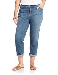 Eileen Fisher Plus Plus Agind Boyfriend Jeans Grey