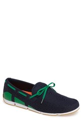 Swims Men's 'Breeze' Slip On Navy Green White