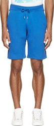 Christopher Kane Blue Fleecy Shorts