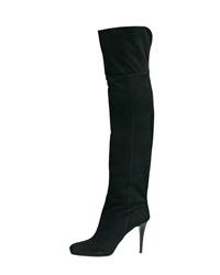 Jimmy Choo Gypsy Fitted Over The Knee Boot Black
