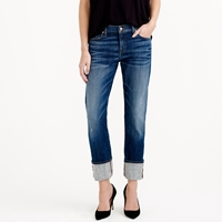 J.Crew Point Sur X Rocker Japanese Denim Jean With Cashmere