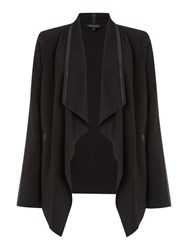 Episode Waterfall Front Blazer Black