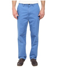 Nautica Classic Flat Front Pants Star Sapphire Men's Casual Pants Blue