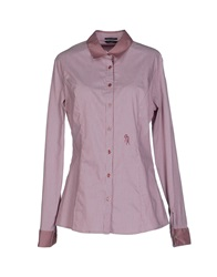 Guess By Marciano Shirts Pastel Pink