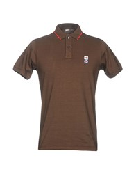 Avio Polo Shirts Dark Brown
