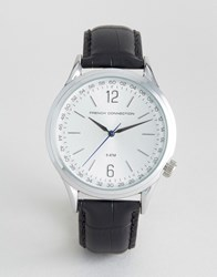 French Connection Quartz Watch Black