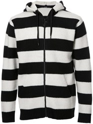 Hl Heddie Lovu Striped Hoodie Wool Black