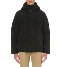 Canada Goose Maitland Down Filled Shell Parka Black