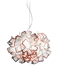 Slamp Clizia Pendant Small 20.75 In Diameter Orange