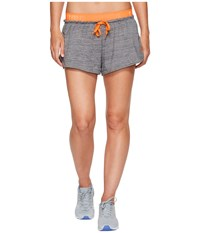 Puma Transition Drapey Shorts Dark Gray Heather Women's Shorts