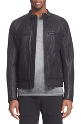 Belstaff Men's 'Reddale' Leather And Genuine Shearling Jacket